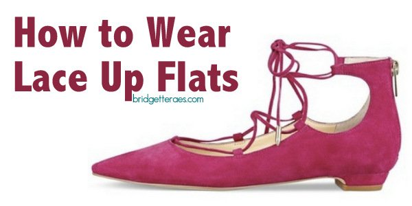 How to Wear Lace Up Flats