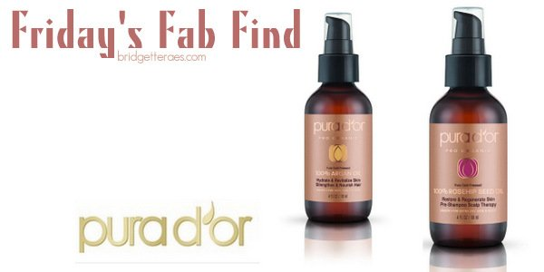 Friday's Fab Find: PURA D'OR Rosehip Seed and Argan Oils
