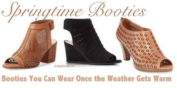 Springtime Booties: Booties You Can Wear Once the Weather Gets Warm