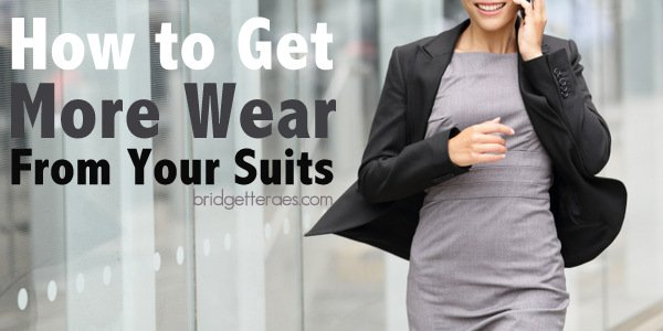 How to Get More Wear from One Suit