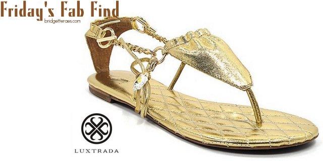 Friday's Fab Find: Luxtrada Sandals