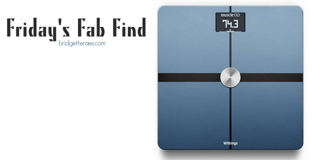 Friday's Fab Find: Withings Body Analyzer Scale