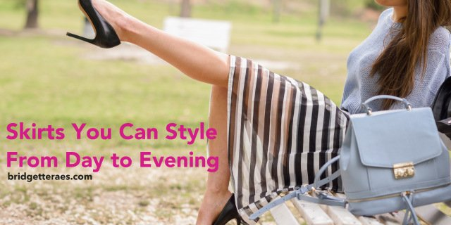 Skirts You Can Style from Day to Evening