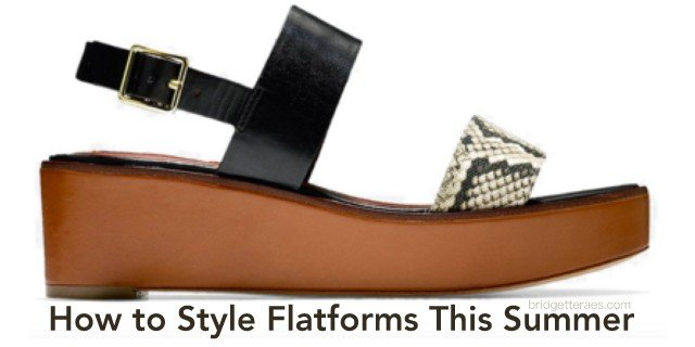 How to Style Flatforms this Summer