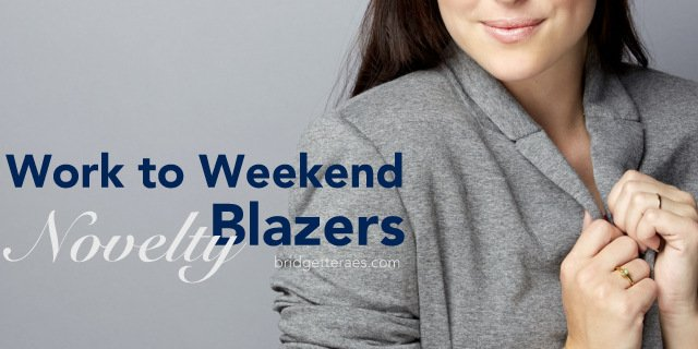Work to Weekend Novelty Blazer Outfits