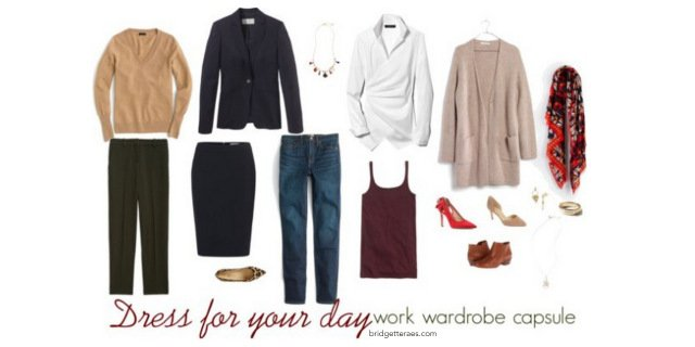 Dress For Your Day Work Wardrobe Capsule
