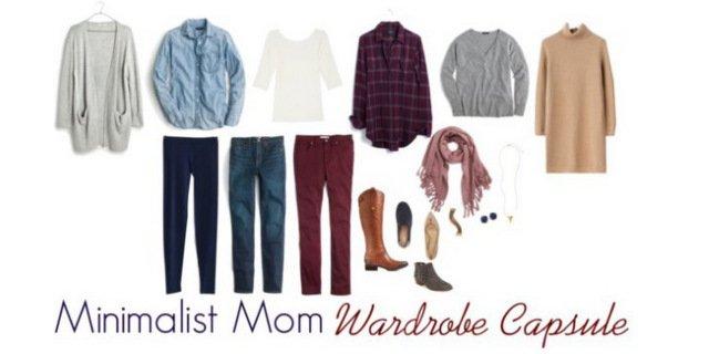 Minimalist Mom Wardrobe Capsule