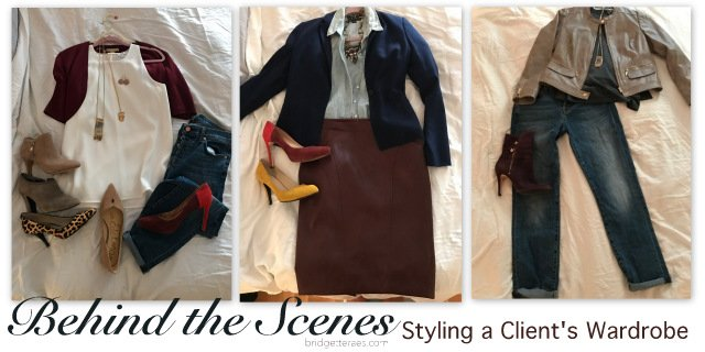 Behind the Scenes: Styling a Client's Wardrobe