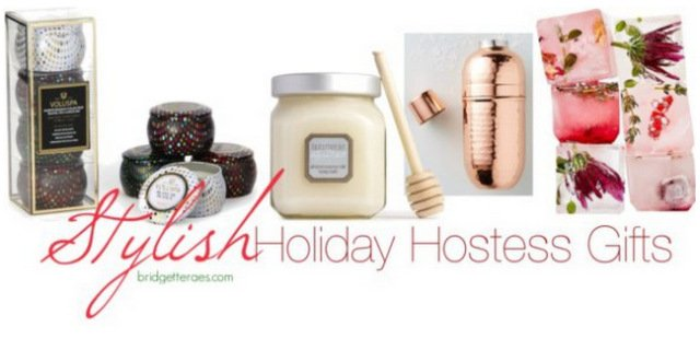 Stylish Holiday Hostess Gifts