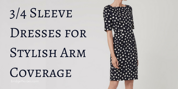 3/4 Sleeve Dresses for Stylish Arm Coverage