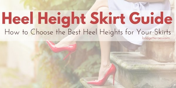 How to Choose the Best Heel Heights with Skirts