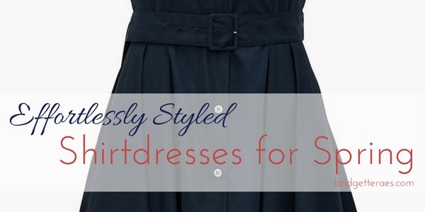 Shirtdresses for Effortless Style