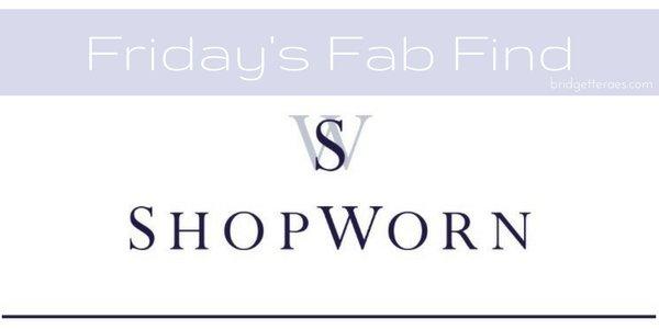 Friday's Fab Find: Shopworn