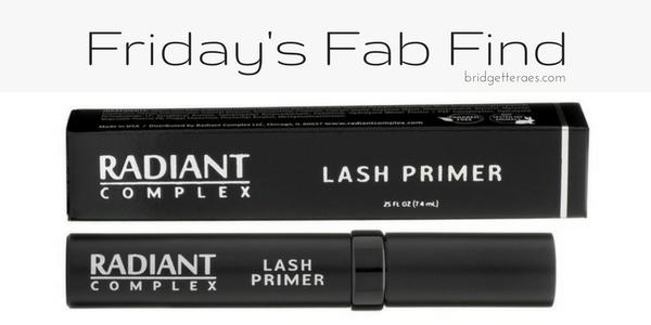 Friday's Fab Find: Radiant Complex Lash Primer