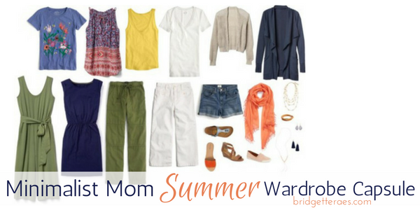 Minimalist Mom Summer Wardrobe Capsule