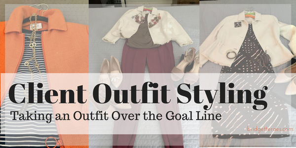 Client Styling Session: Taking an Outfit Over the Goal Line