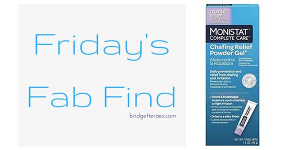 Friday's Fab Find: Monistat Chafing Gel