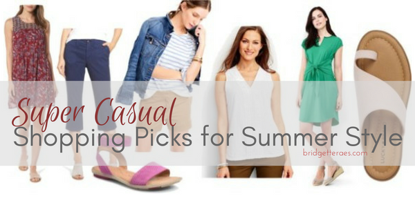 Super Casual Shopping Picks for Summer Style