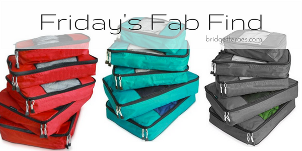 Friday's Fab Find: TravelWise Packing Cube System