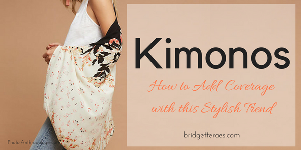 Crazy for Kimonos: How to Style Them this Summer