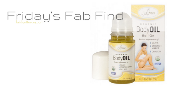 Friday's Fab Find: Wally's Organic Body Oil