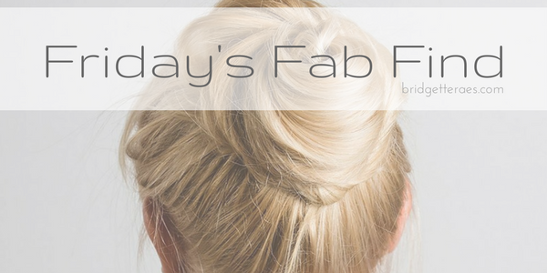 Friday's Fab Find: Hair Thing Messy Bun Maker