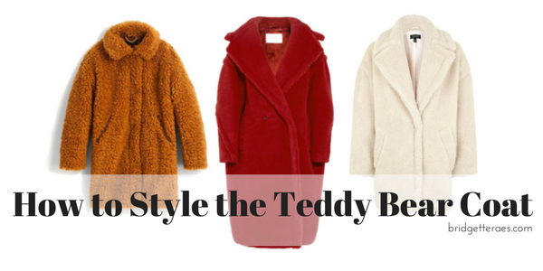 How to Style the Teddy Bear Coat