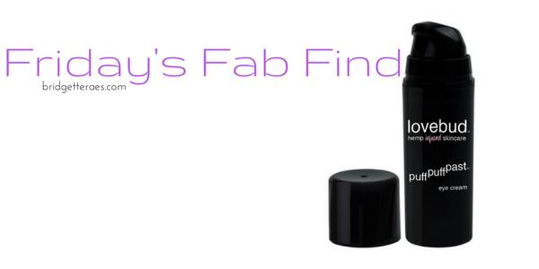 Friday's Fab Find: Lovebud Puff Puff Past Eye Cream