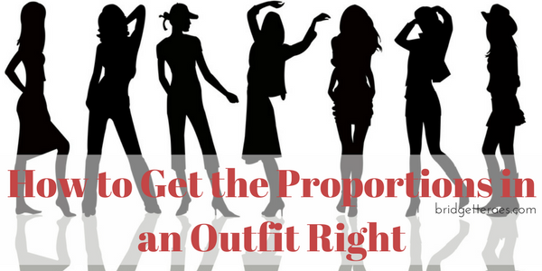 How to Get the Proportions in an Outfit Right