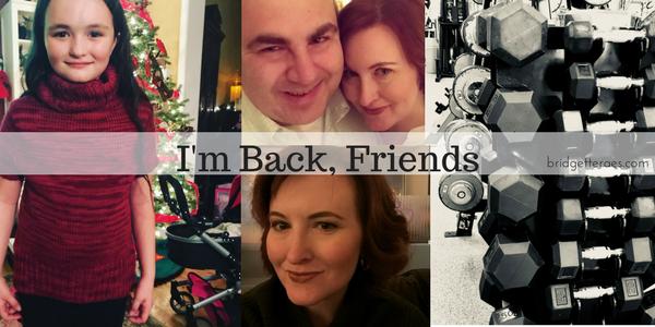 I'm Back, Friends