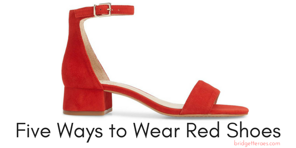 Five Ways to Wear Red Shoes