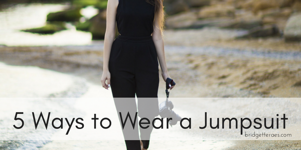 Five Ways to Wear a Jumpsuit
