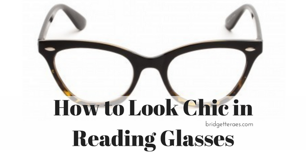 How to Look Chic in Reading Glasses