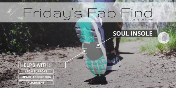 Friday's Fab Find: Soul Insole Shoe Bubble