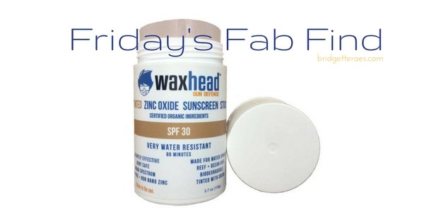 Friday's Fab Finds: Waxhead Sun Defense