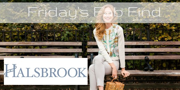 Friday's Fab Find: Halsbrook