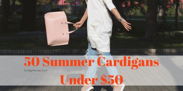 50 Summer Cardigans for Under $50