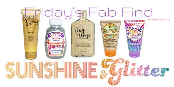 Friday's Fab Find: Sunshine & Glitter