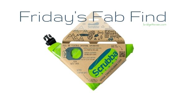 Friday's Fab Find: Scrubba Wash Bag