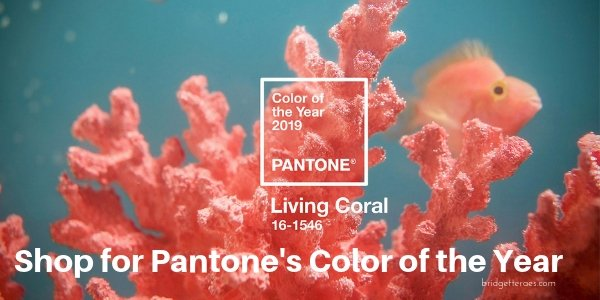 Living Coral: Pantone's Color of the Year for 2019