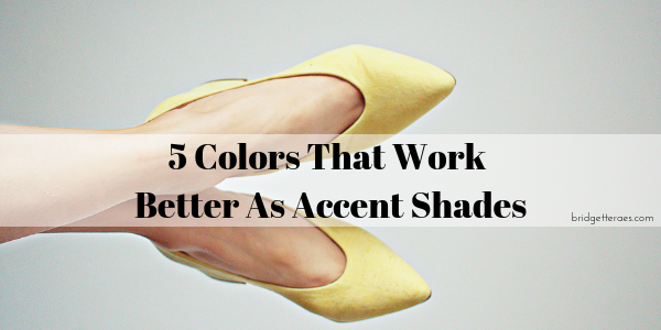 Five Colors That Work Better as Accent Shades
