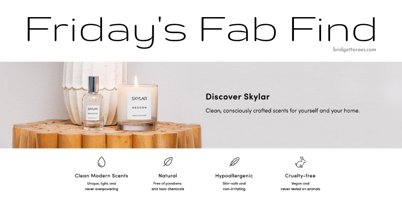 Friday's Fab Find: Skylar Natural Perfumes