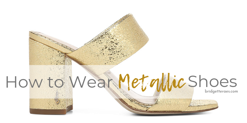 How to Wear Metallic Shoes
