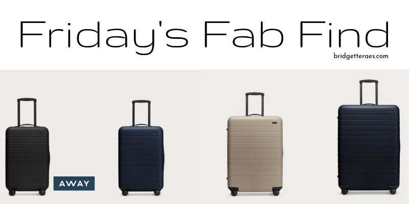Friday's Fab Find: Away Luggage