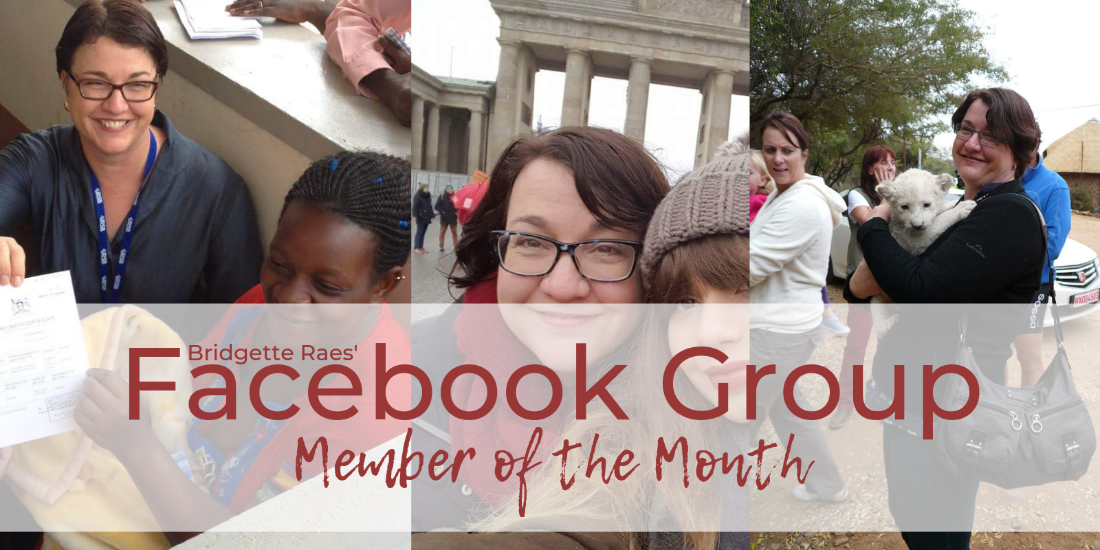 Facebook Group Member of the Month: Anneke Schmider