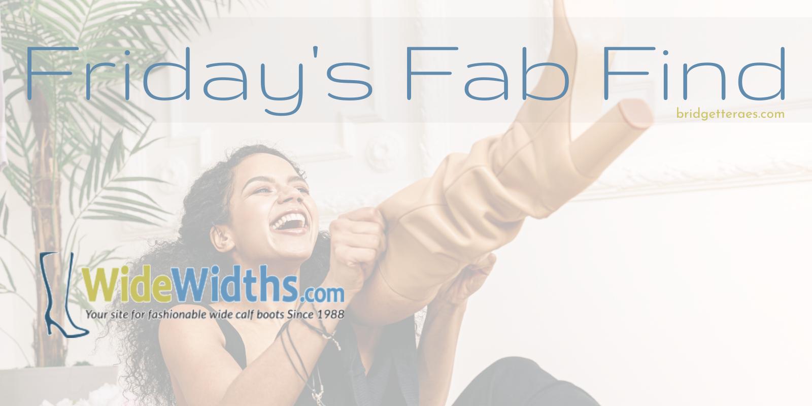 Friday's Fab Find: WideWidths.com
