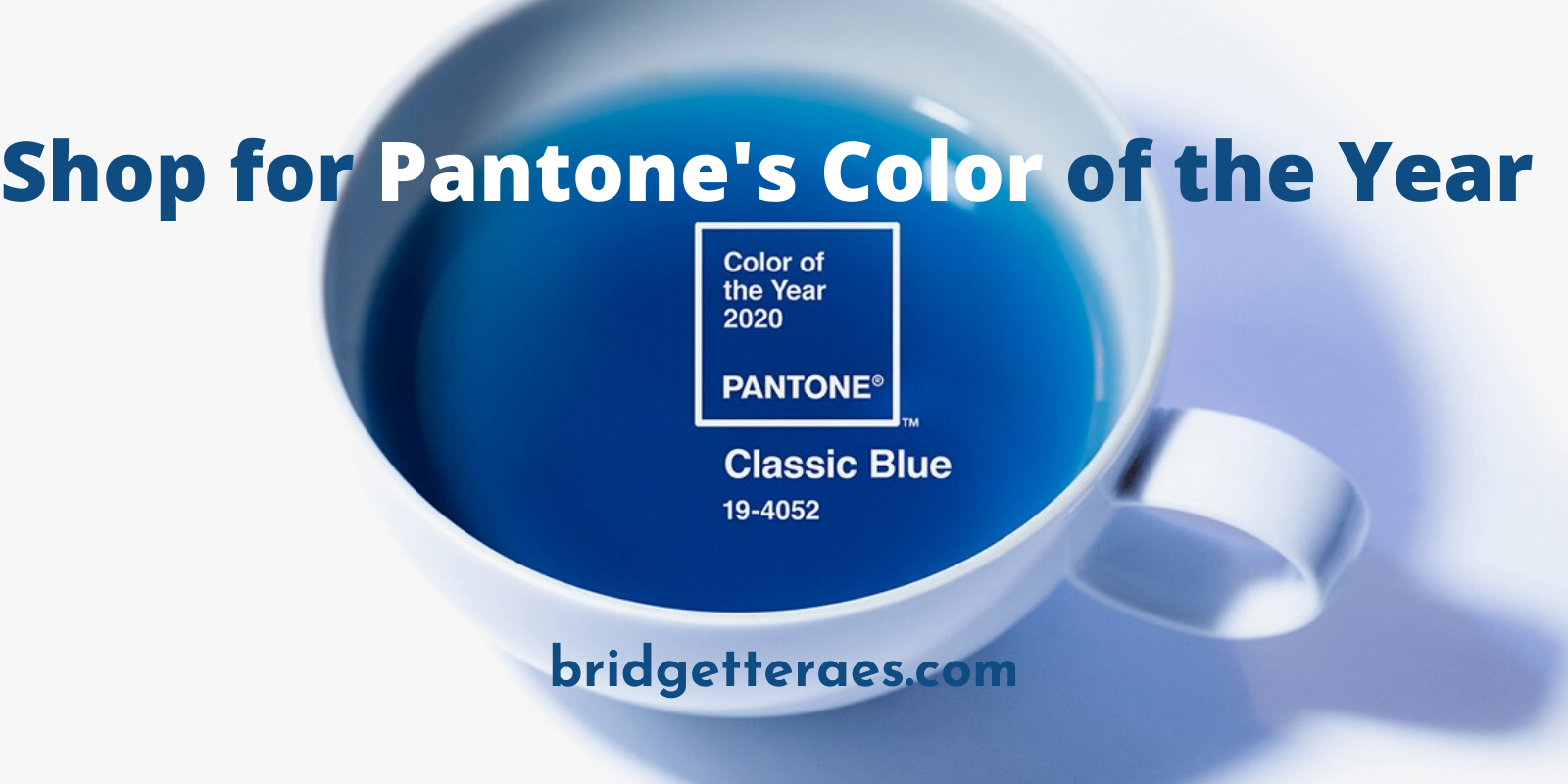 Shop for Classic Blue, Pantone's Color of the Year