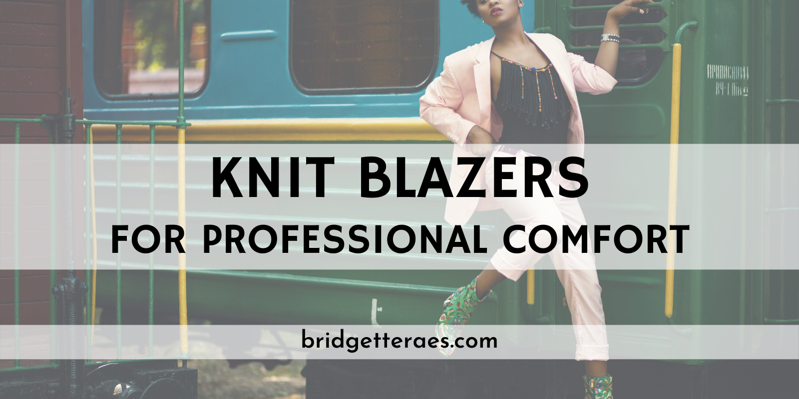 Knit Blazers for Professional Comfort