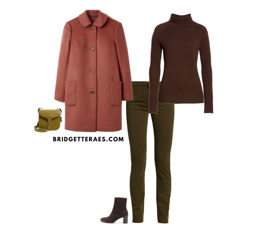 olive handbag shades