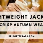 Lightweight Jackets and coats for Crisp Autumn Weather